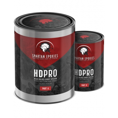 HDPRO - High Solids Primer / Base - 1.5 Gallon Kit