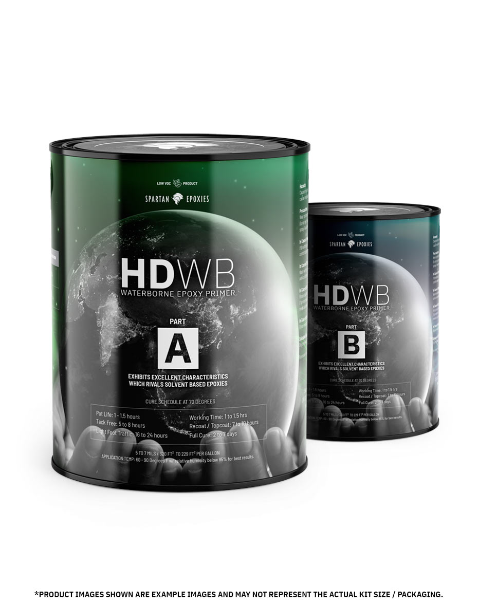 HDWB - Epoxy Primer - 1 Gallon Kit