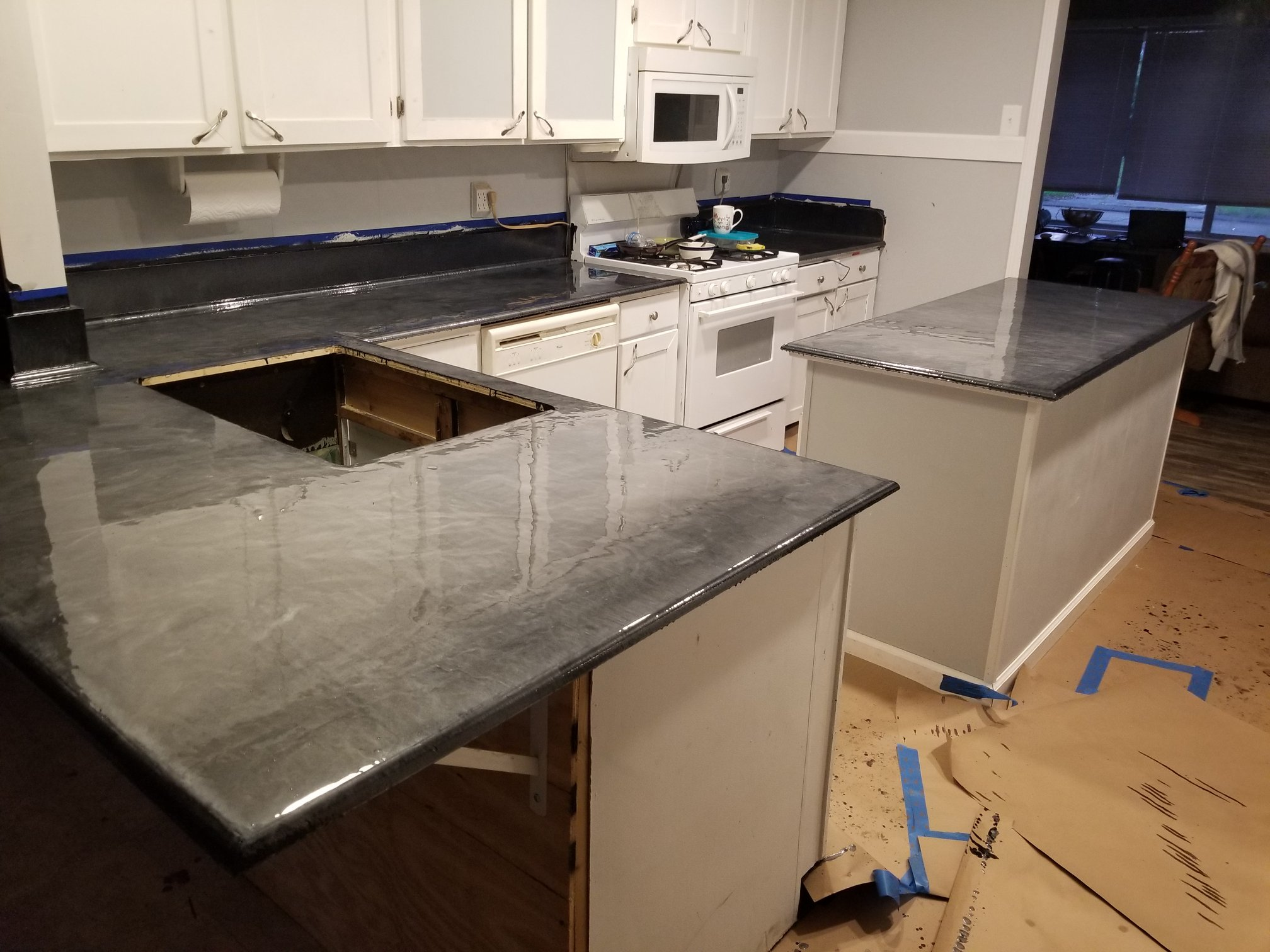 Customer Review - Caleb M. Spartan Epoxies Metallic Epoxy for Countertops